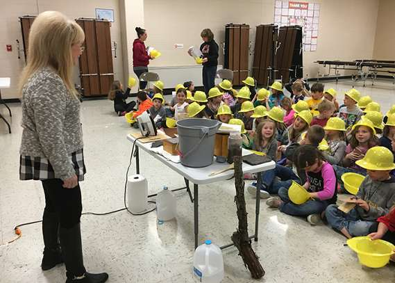 PCA Corporate Employees Visit Local Grade Schools