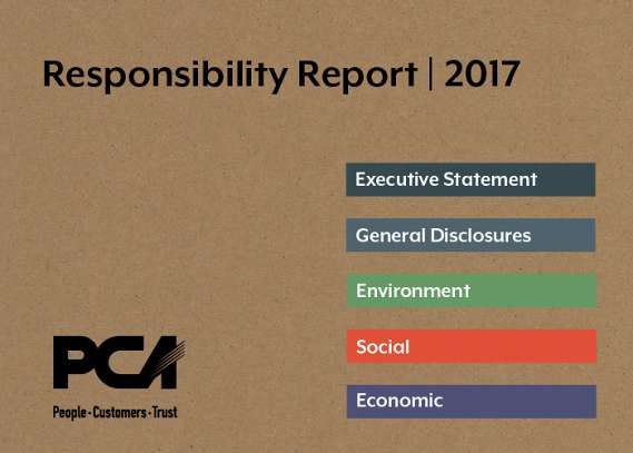 PCA Publishes Its 2017 Responsibility Report