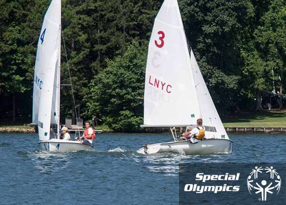 PCA Employee Coaches Special Olympics Sailors